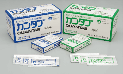 カンタブ(低濃度品)-塩分量測定計