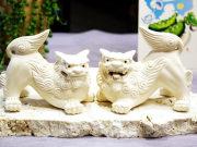 沖縄の守り神シーサー お土産にぴったりです♪琉球ガラスやちび絵も素敵!