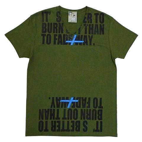 カートラストメッセージVネックTシャツ