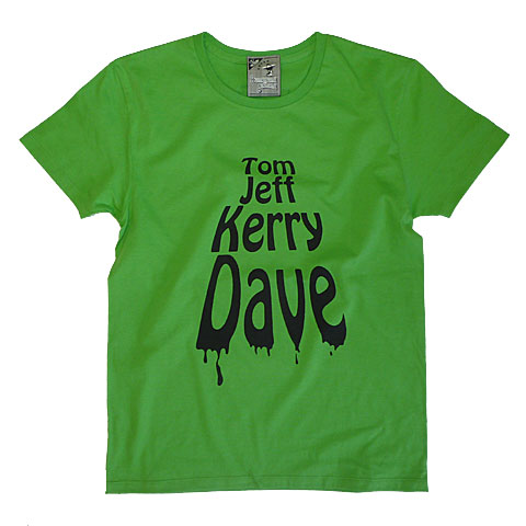 TOMJEFFKERRYDAVE Tシャツ