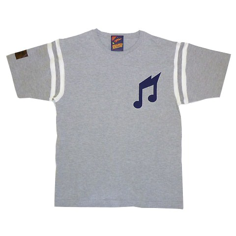 THUNDER NOTE フットボールTシャツ