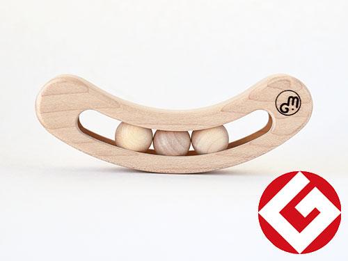 木製ラトル fava(ファーバ)/ナチュラル
