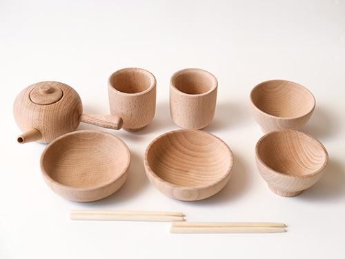 お食事・急須セット/木遊舎