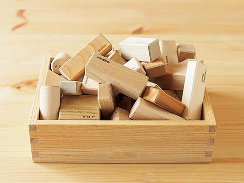 英語の積木 (木箱)/OakVillage