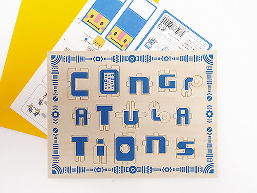 "工作キット Greeting ""CONGRATULATIONS""/twelvetone"