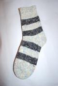 Planet-e Socks ボーダーソックス(ブラック)