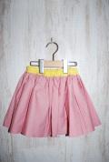 〜SALE〜 6°vocaLe ロットンドスカート ピンク(10、110センチ)