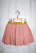 〜SALE〜 6°vocaLe コーデュロイスカート ピンク(90〜110センチ)