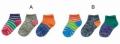 stample ビビットミックス3Pアンクルソックス(10〜21センチ)