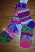 solmate socks(ソルメイトソックス)tulips/サイズM 男女兼用