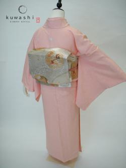 色無地 レンタル 入園式 卒園式 ピンク