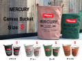 【新作 10%OFF】 MERCURY マーキュリー キャンバスバケツ Canvas Bucket  Sサイズ インテリア キャンバス地 収納バケツ