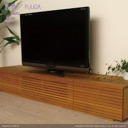 ■ 風雅/FUUGA テレビボード W1800(オーク‐スリット)