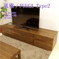 ■ 風雅/FUUGA Type2 テレビボード W1800(ウォルナット‐スリット)