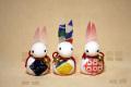 福ウサギ【カード立て】
