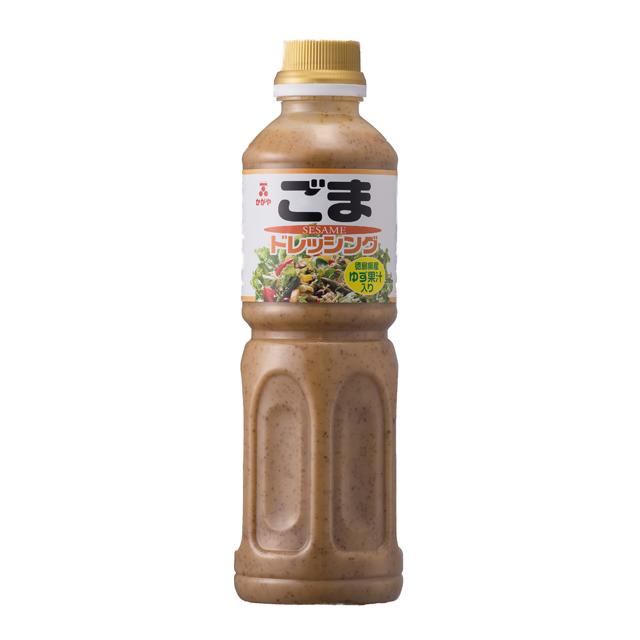 【イチミツボシ】ごまドレッシング ゆず果汁入り500ml:調味料<郷土味紀行>30088