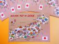 【日本のおみやげ】ポストカード【日本名所絵図/写真】(バラ単品)透明OPP袋入り