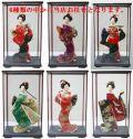 【日本のおみやげ】◆日本人形【アクリルケース入り】6種類の中から店長お任せとなります。