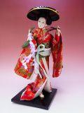 【日本のおみやげ】◆日本人形【藤娘】