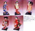 【日本のおみやげ】◆日本人形【5種5体セット】