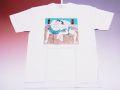 【日本のおみやげ】【ホームステイおみやげ】【日本土産】(漢字・和柄)◆和風Tシャツ【相撲】大人用(3L)白地