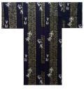 【日本のおみやげ】◆外国人向け3色地浴衣【秀吉】男性用(M〜LL)