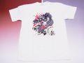 【ホームステイおみやげ】【日本土産】(漢字・和柄)◆和風Tシャツ【飛龍】子供用(80cm〜150cm)白地