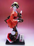 【日本のおみやげ】◆日本人形10号【三味線】尾山作「特上品」※着物の絵柄はイメージとなります。