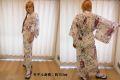 【日本のおみやげ】◆外国人向け色浴衣【桜舞妓】女性用(S/M)