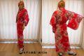 日本のお土産|日本のおみやげホームステイおみやげ|日本土産◆外国人向け浴衣【ぼかし人形】女性用(M)