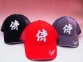 【日本のおみやげ】◆和風キャップ【侍JAPAN】メッシュタイプ3色りお選びください