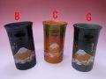 【日本のお土産】◆金富士ビアーカップ【日本美陶】3色よりお選びください。