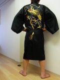 【日本のおみやげ】◆外国人向けハッピローブ【新一頭竜刺繍】男女兼用(XLサイズ)