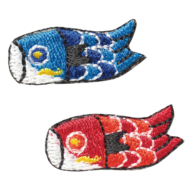 KY37-423/ワッペン/鯉のぼり/【DM便可】