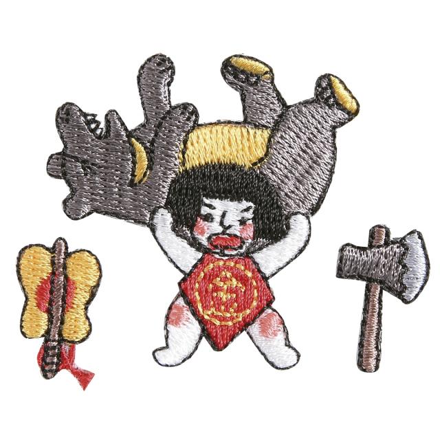 KY37-456/ワッペン/金太郎/【DM便可】