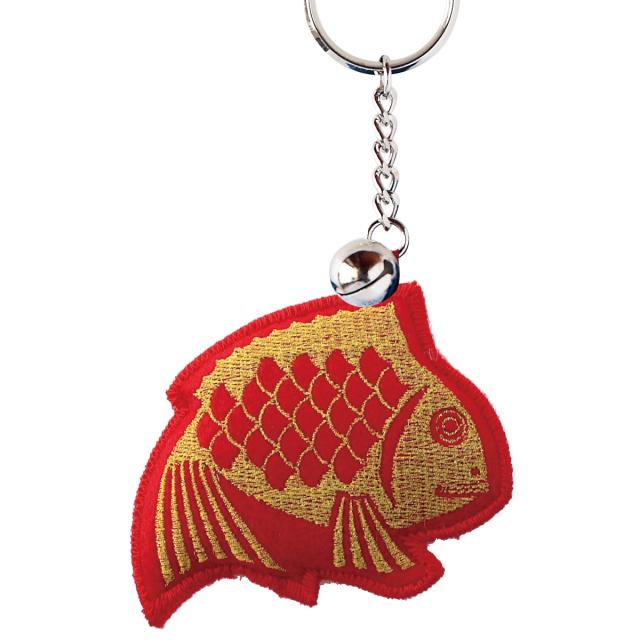 KY42-14TR/Keyholder/Happy Seabream [Red]