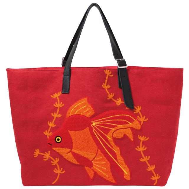 KY55-603/Bag/Ryukin Goldfish[Red]