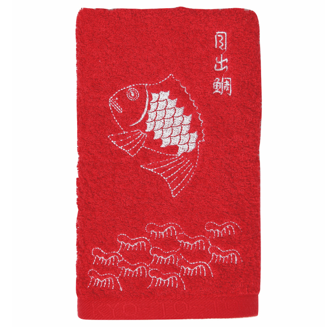 KY72-14/Face Towel/Happy Seabream