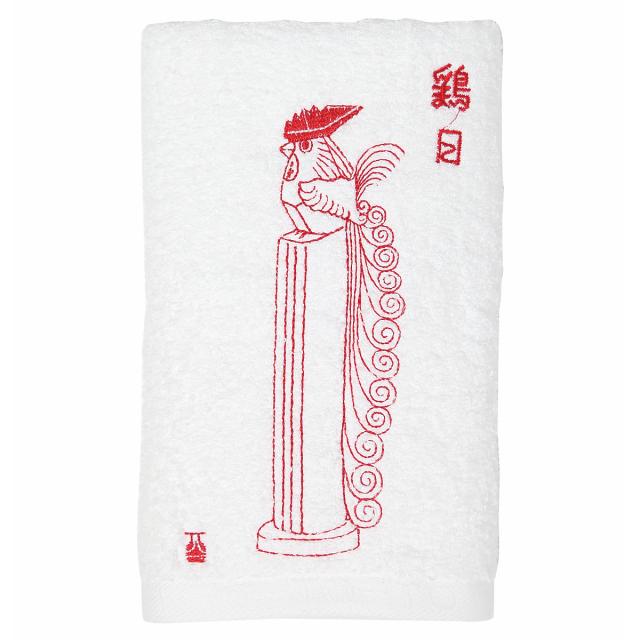 KY72-666/フェイスタオル/鶏日