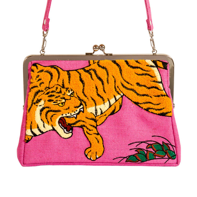 KY80-803/Clutch bag/Dragon And Tigers Screen