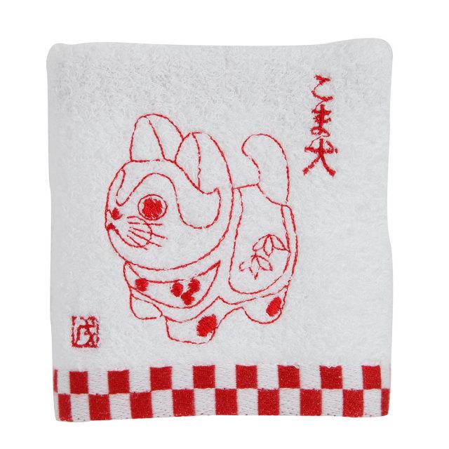 KY95-34/Hand Towel/Komainu the lion-dog