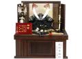 【五月人形・兜収納飾り】13号 鑽彫本鍬形之兜 間口55cm【2015年度新作】【送料無料】【初節句・端午の節句】【収納に便利】