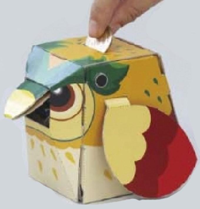 【教材 理科工作】おしゃべり貯金箱