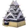 【hacomo段ボール工作キット】日本のお城 熊本城