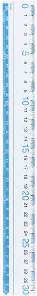 【学童用品 定規】 見やすい定規 AJR252A (30cm)