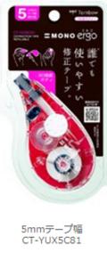 【修正テープ】 トンボ修正テープ モノエルゴ(5mm幅)