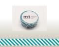 【マスキングテープ】 mt1Pストライプ・ひすい