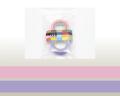 【マスキングテープ】 ローズピンク×ラベンダー