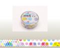 【マスキングテープ】 mtex ランダムドット