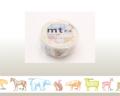 【マスキングテープ】 mtex animals